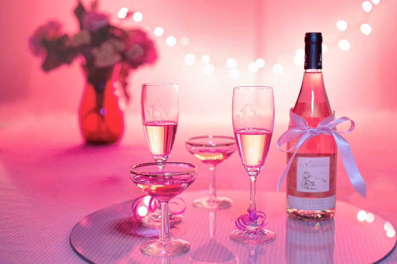 La fabrication du vin rose