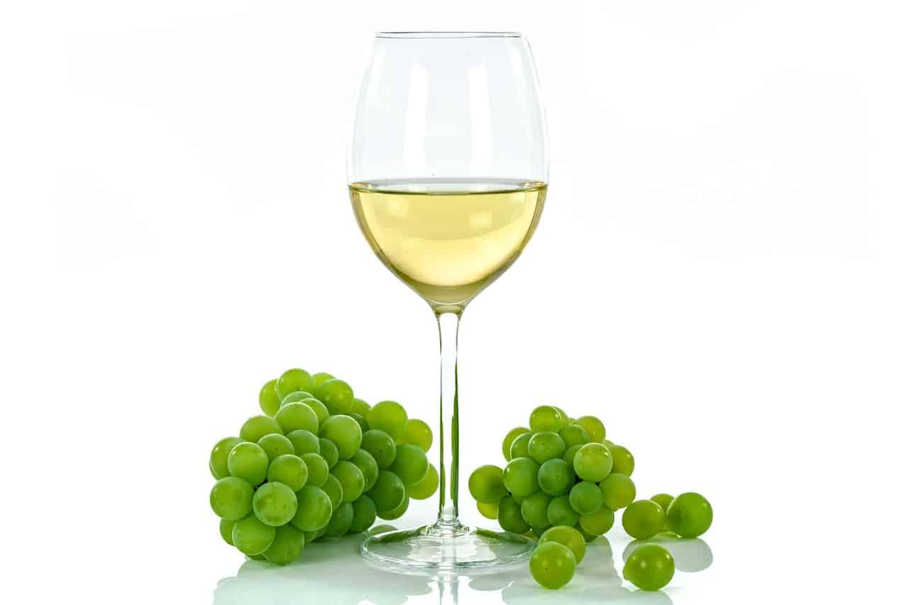 Vin blanc et mets